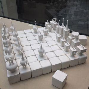 Фарфоровые шахматы в музее Императорского фарфора