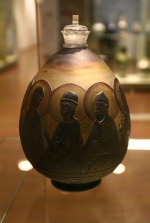 Яйцо пасхальное. 1917 г. в музее Императорского фарфора