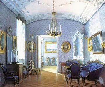 Передняя на половине императрицы Марии Александровны