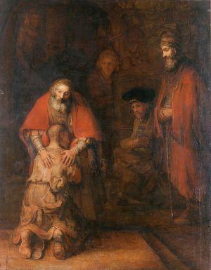 Рембрандт «Возвращение блудного сына». Новый Эрмитаж