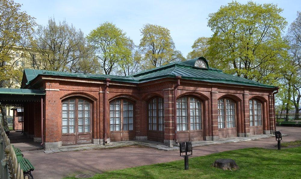 Домик Петра Первого в Санкт-Петербурге