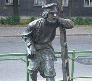 Памятник фонарщику в Санкт-Петребурге