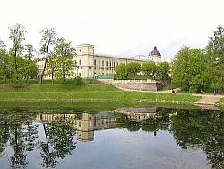 Дворец-замок и Гатчинский парк