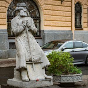 Скульптура Дворник XIX века