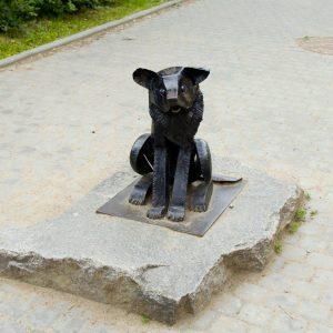 Памятник бродячей собаке Гаврюше