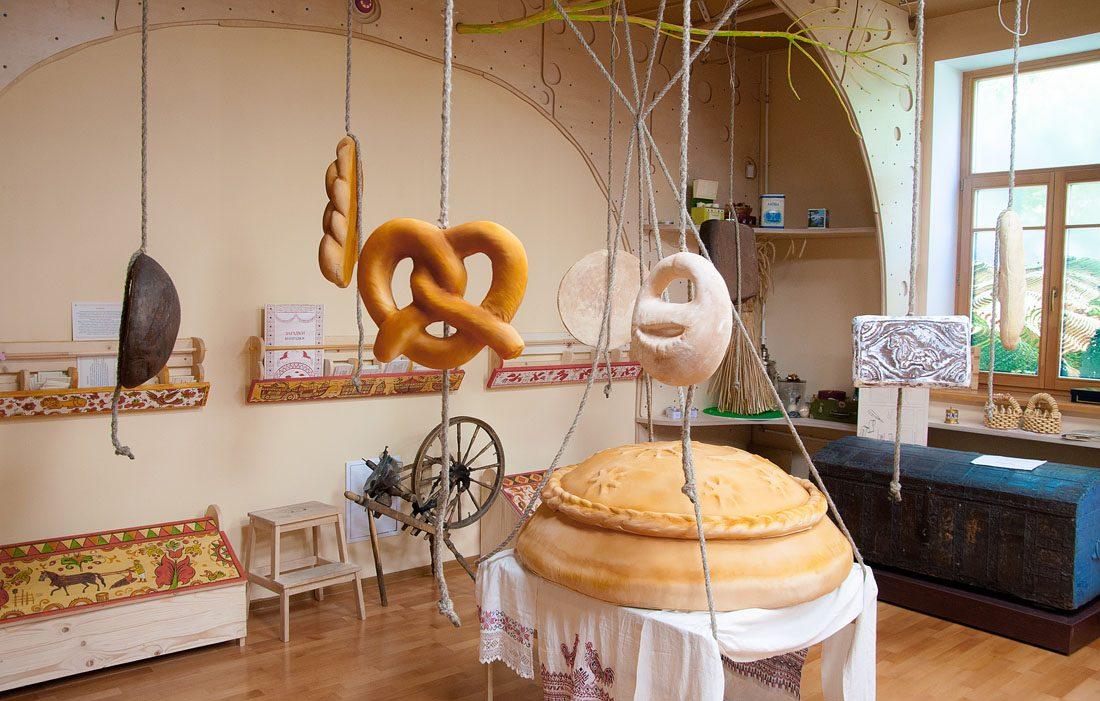 Экспонаты музея Хлеба в Санкт-Петербурге