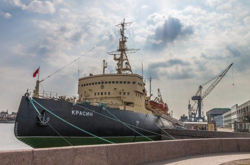 Ледокол-музей «Красин» в Санкт-Петербурге