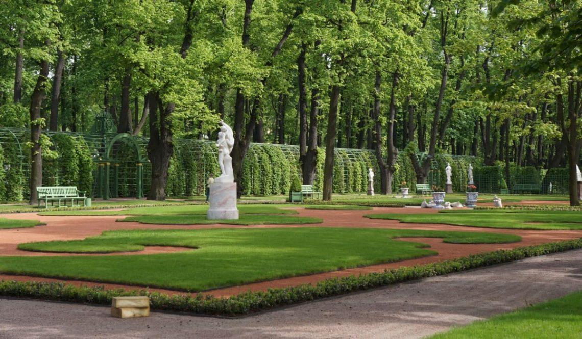Летний сад в СПб