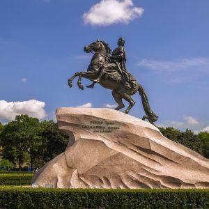 Памятник Петру Первому в Санкт-Петербурге