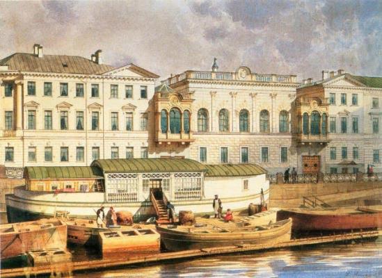 Шуваловский дворец в санкт петербурге