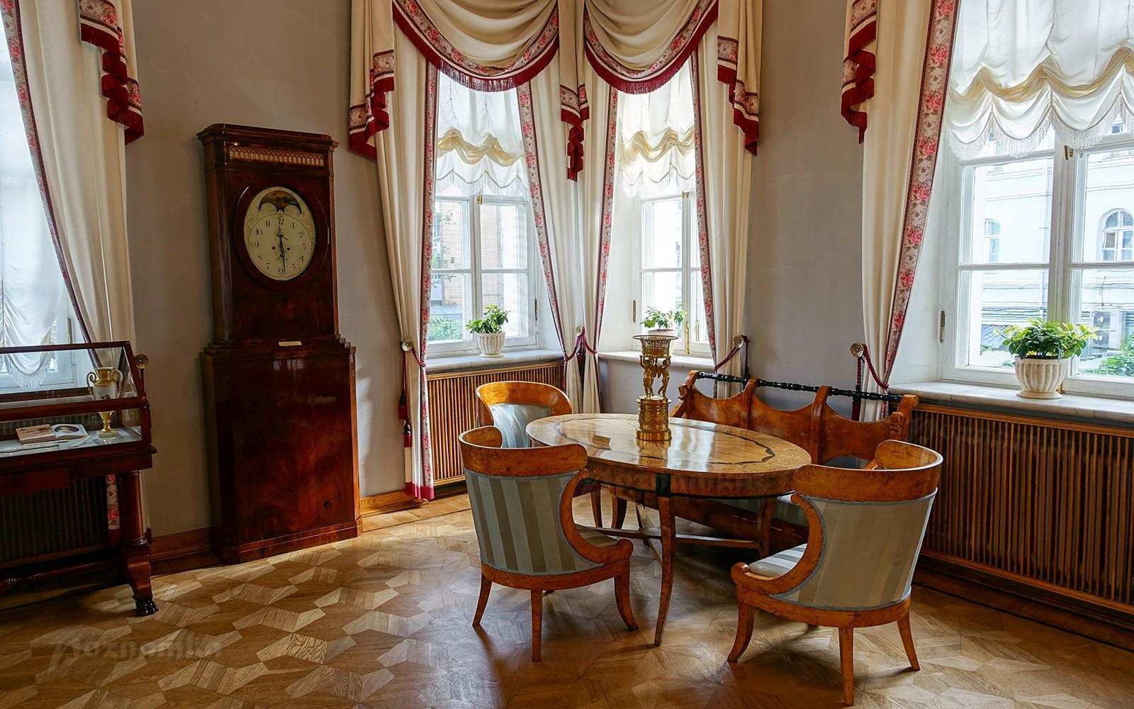 Музей-квартира А.С. Пушкина в Петербурге