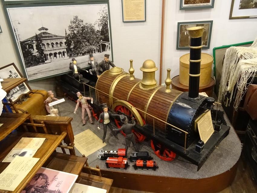 Экспонаты музеия истории Павловска