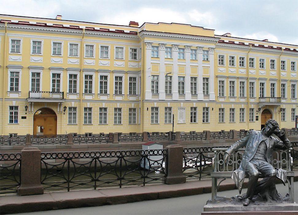 Музей-квартира Пушкина в Санкт-Петербурге