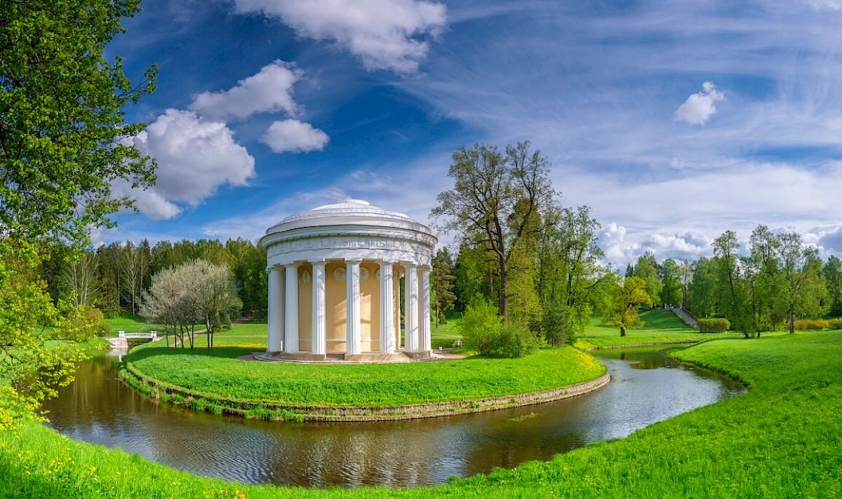 Храм Дружбы – ротонда в Павловске
