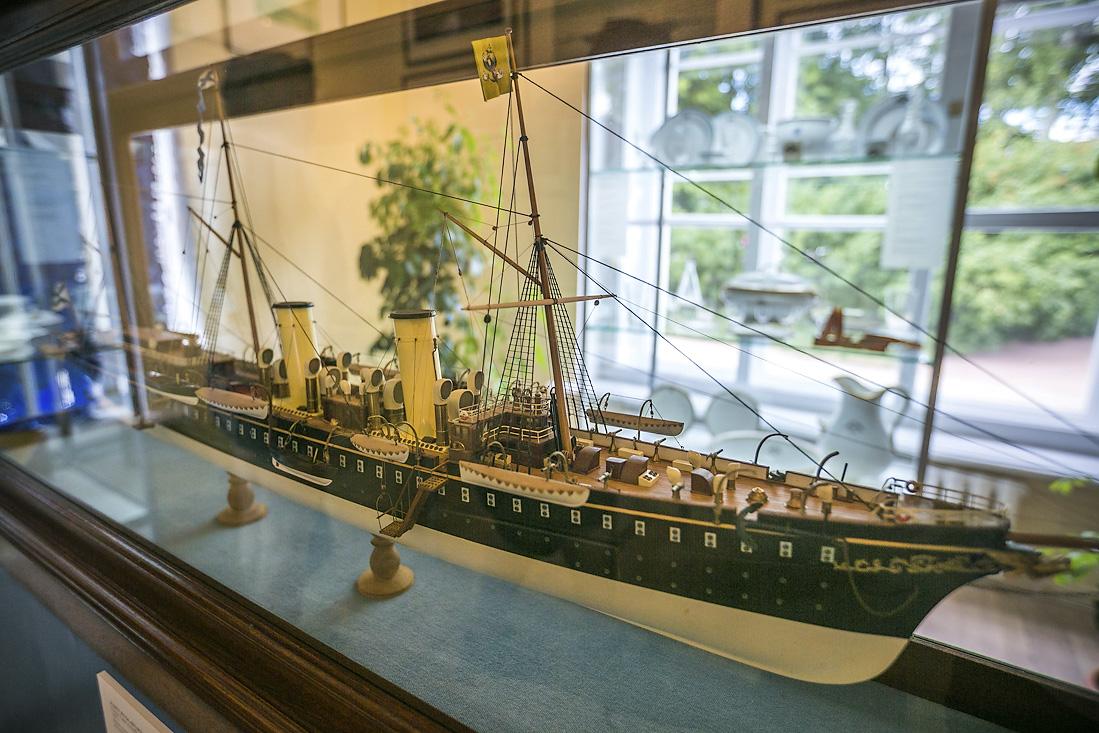 Экспонат музея императорских яхт