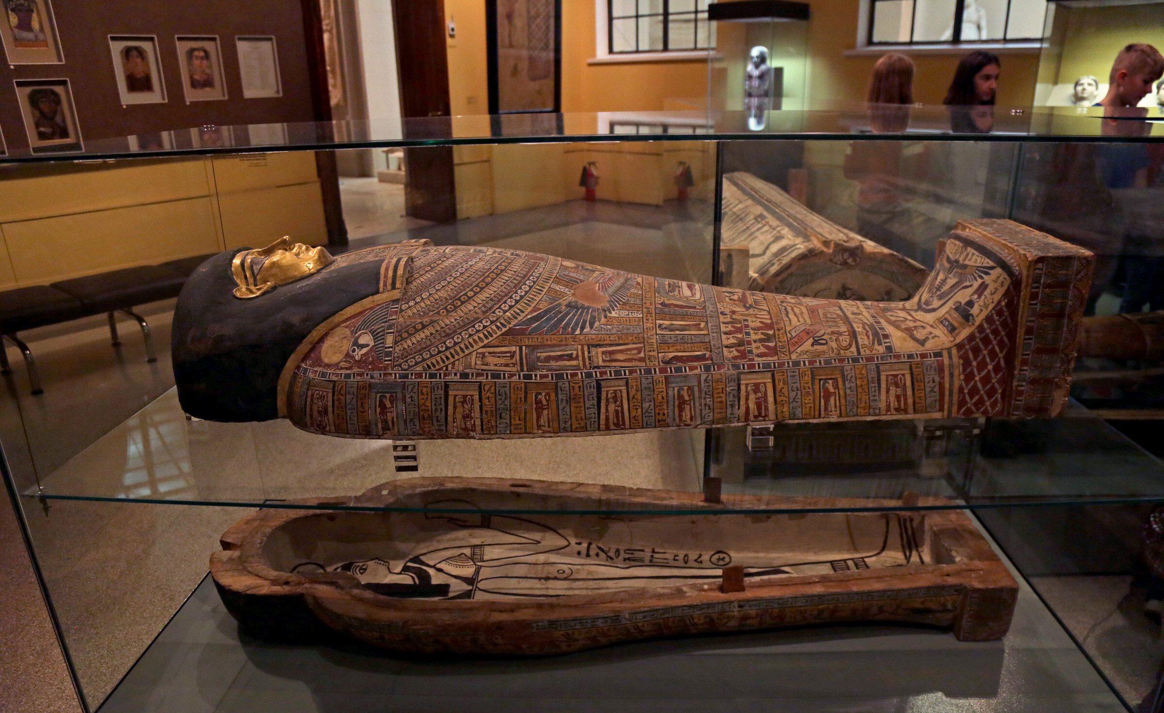 Экскурсия - Охота на мумий в Эрмитаже
