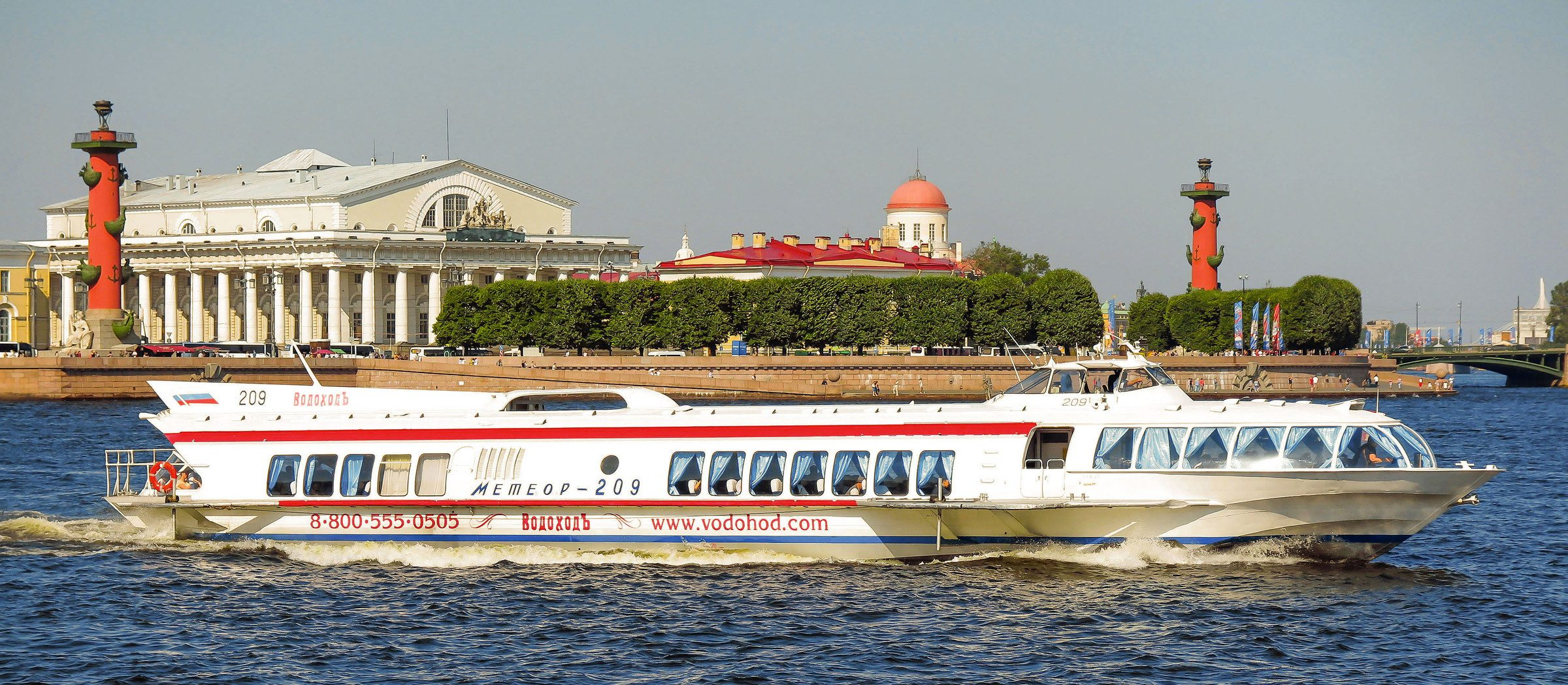 билеты на прогулку по рекам и каналам Санкт-Петербурга