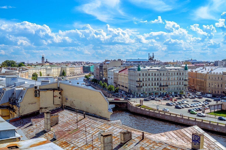 Санкт-Петербург на ладони