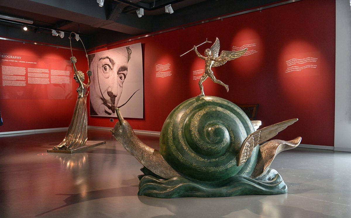 Скульптуры Сальвадора Дали в музее Эрарта
