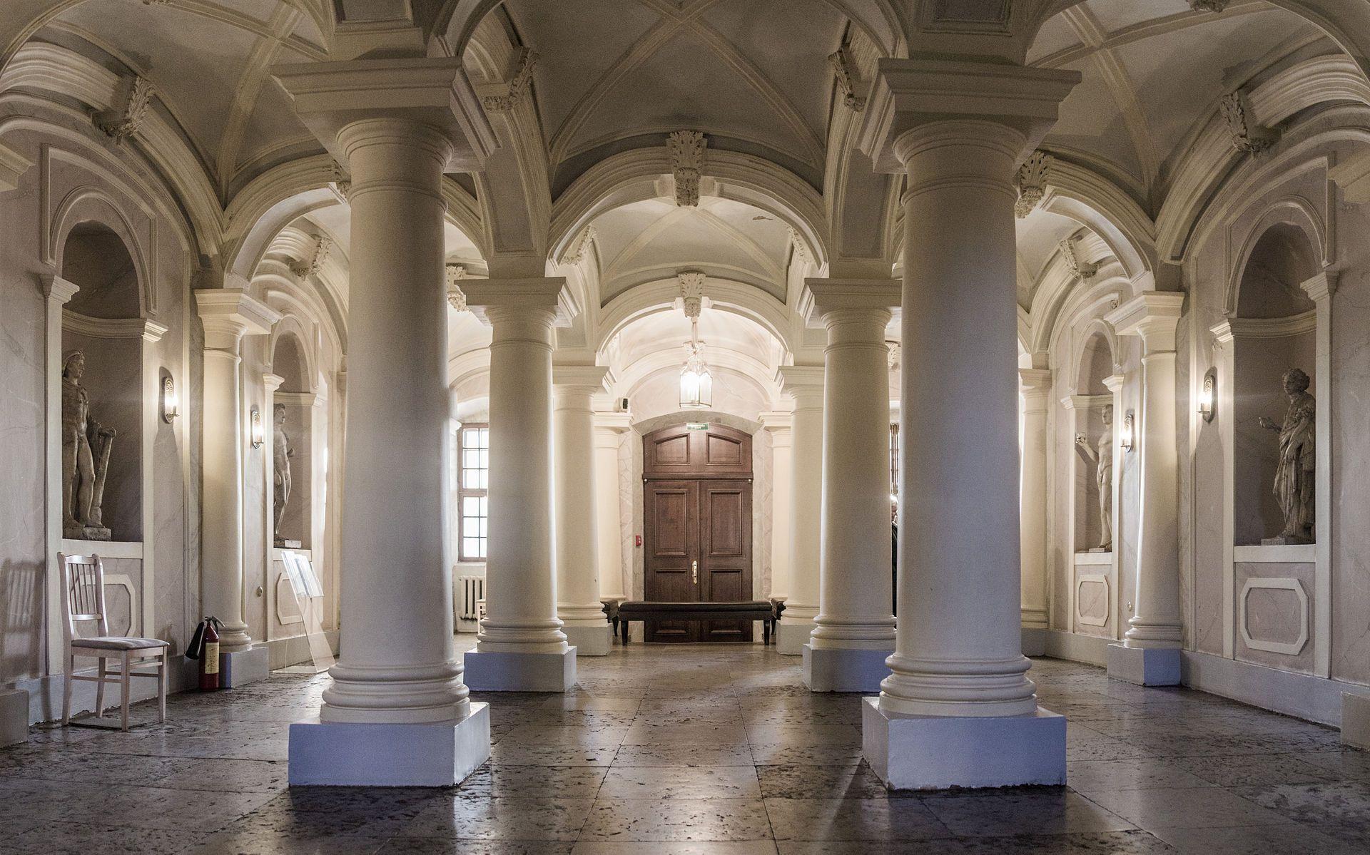 Меншиковский дворец вход