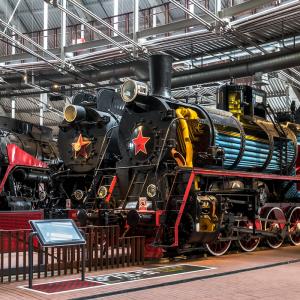 Музей железных дорог в Санкт-Петербурге