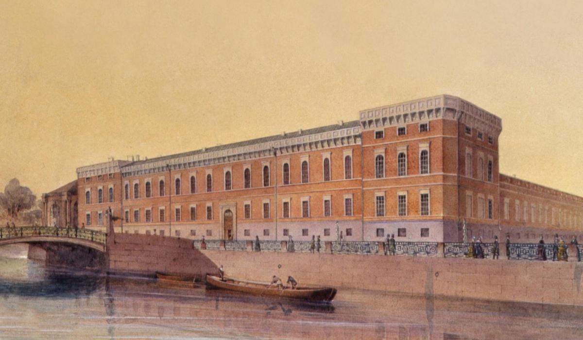 История военно-морского музея в Питере
