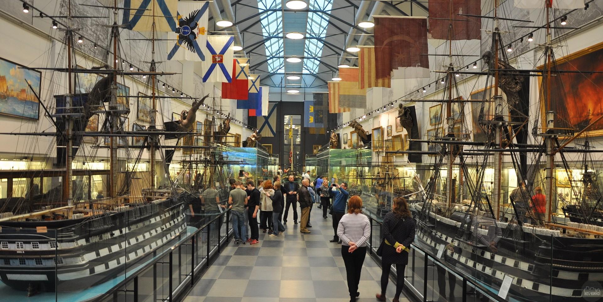 Экскурсии в военно-морской музей
