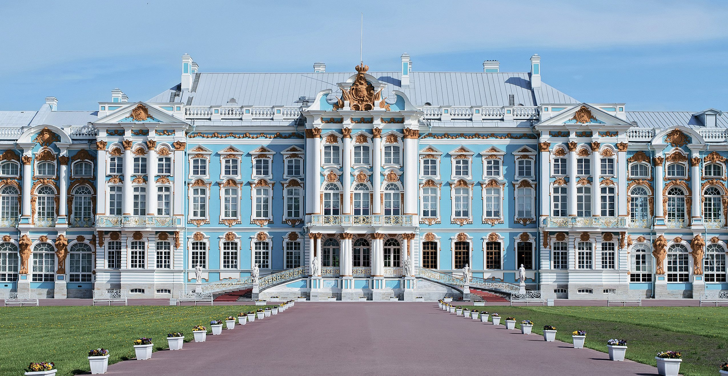 Экскурсия в Большой Екатерининский дворец в Царском Селе