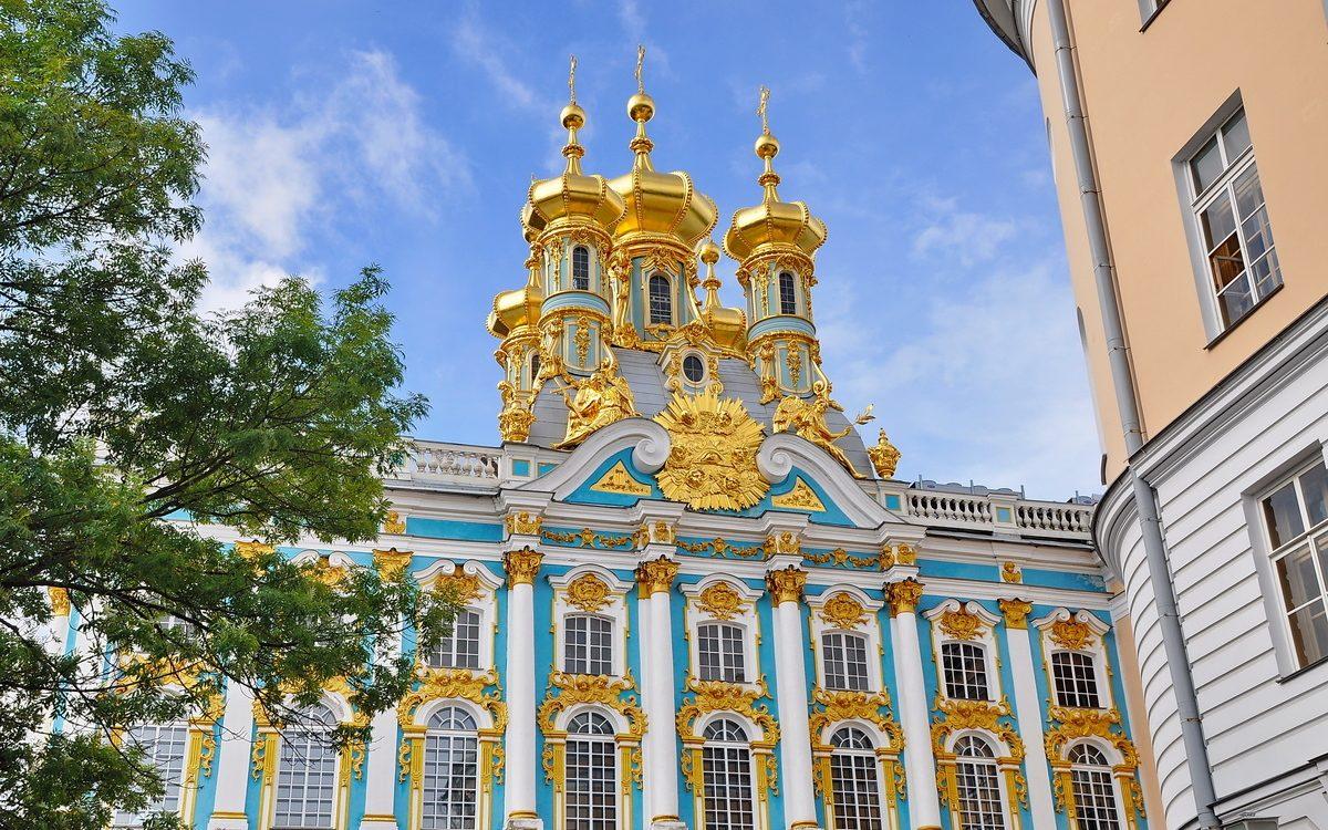 Дворцовая церковь Екатерининского дворца