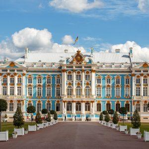 Екатерининский дворец в Пушкине