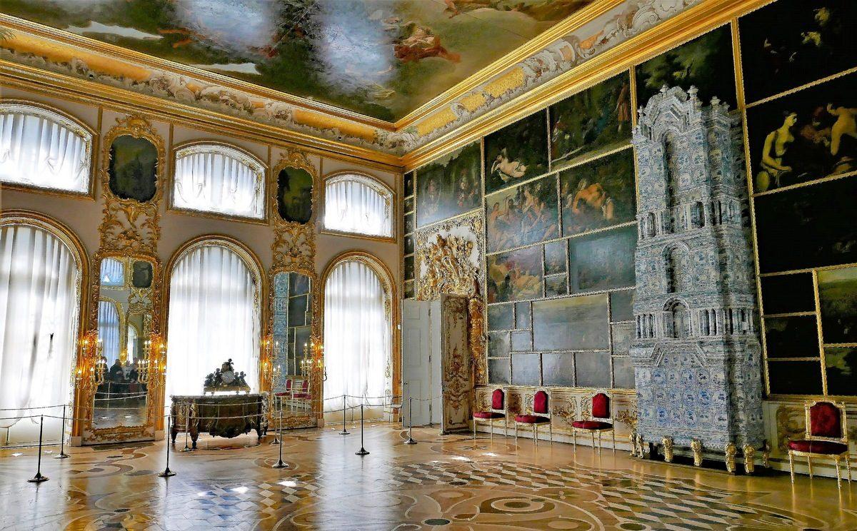 Картинный зал в Екатерининском дворце