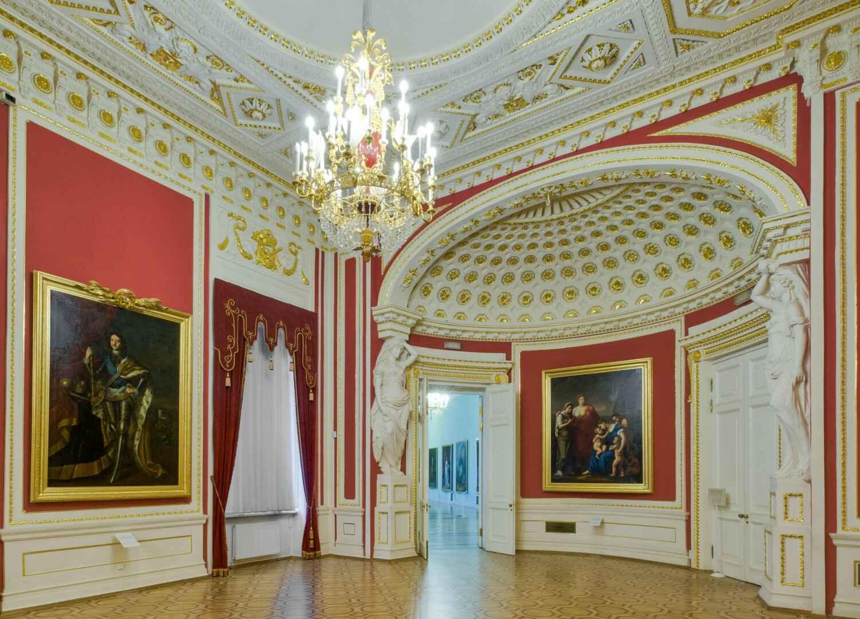 Тронная императрицы Марии Федоровны в Михайловском замке