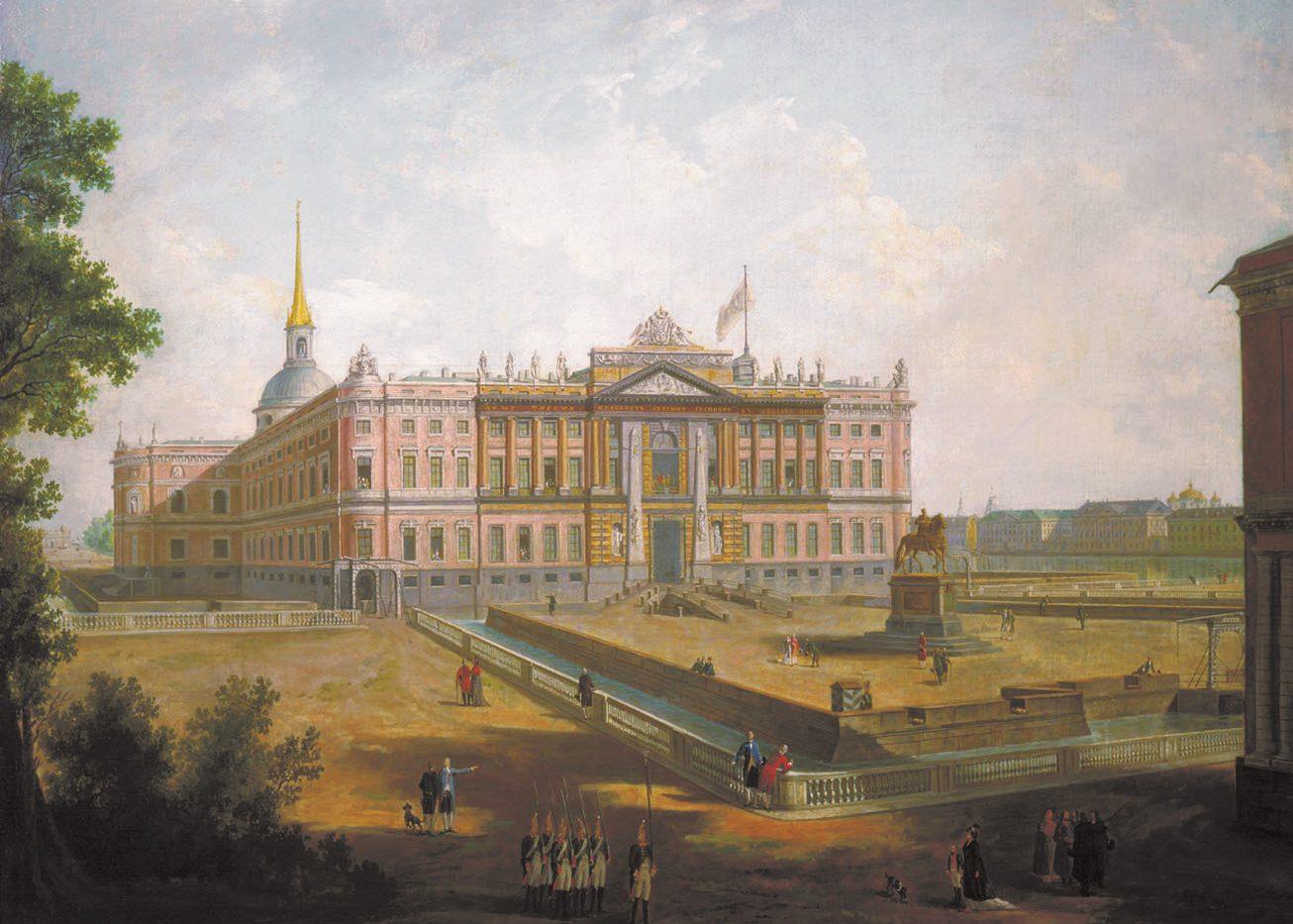 История Михайловского замка