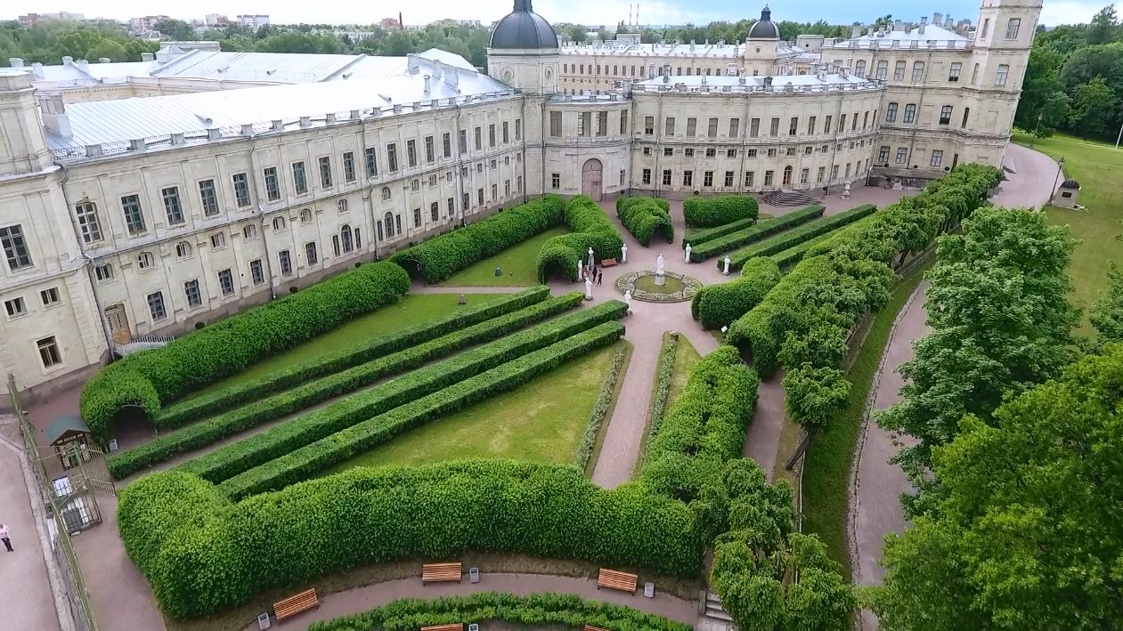 Дворцовый парк в Гатчине