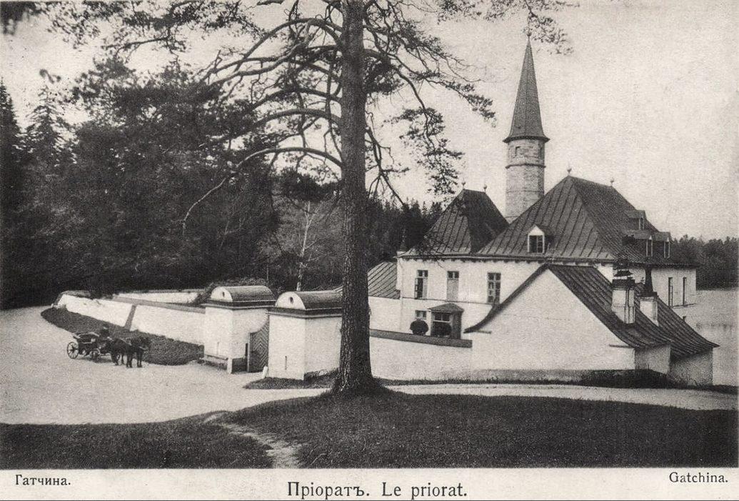 Приоратский дворец в Гатчине 1900г.