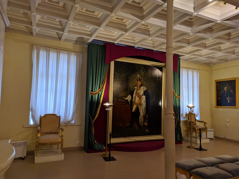 Портрет Павла 1 в Приоратском дворце