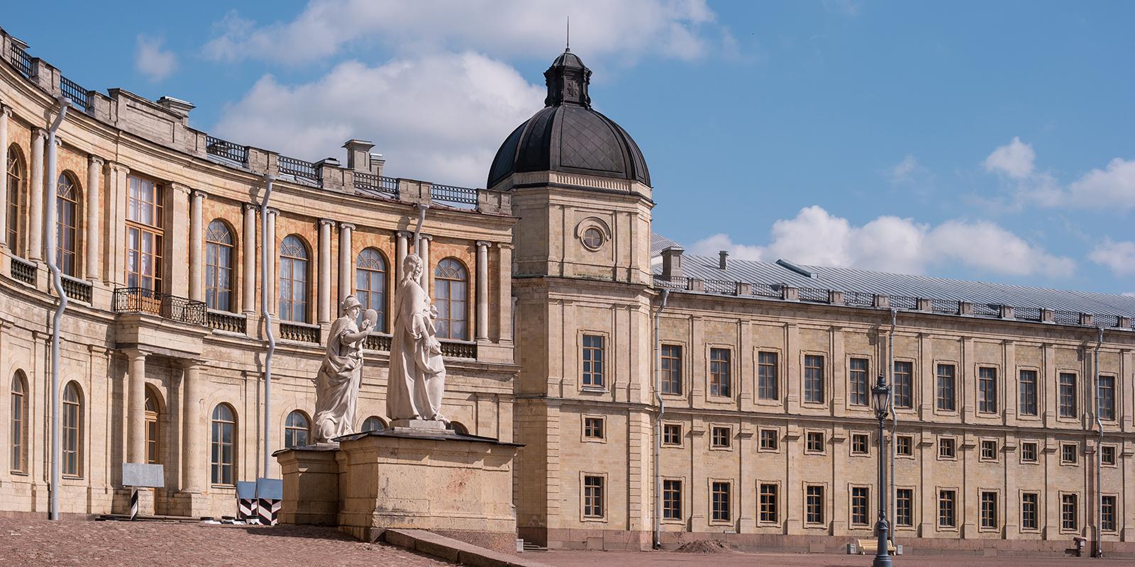 Архитектура Гатчинского дворца