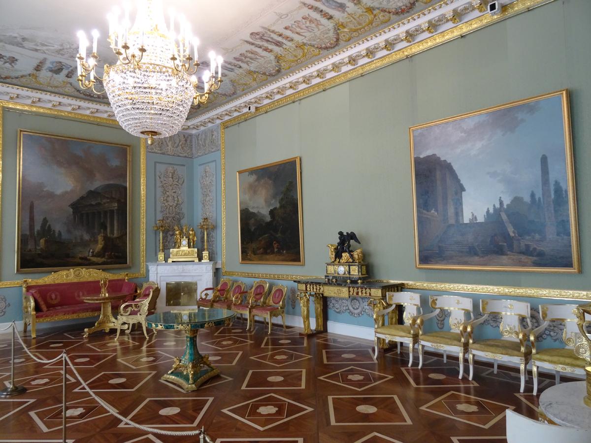 Квартира графа Нессельроде в Главном штабе