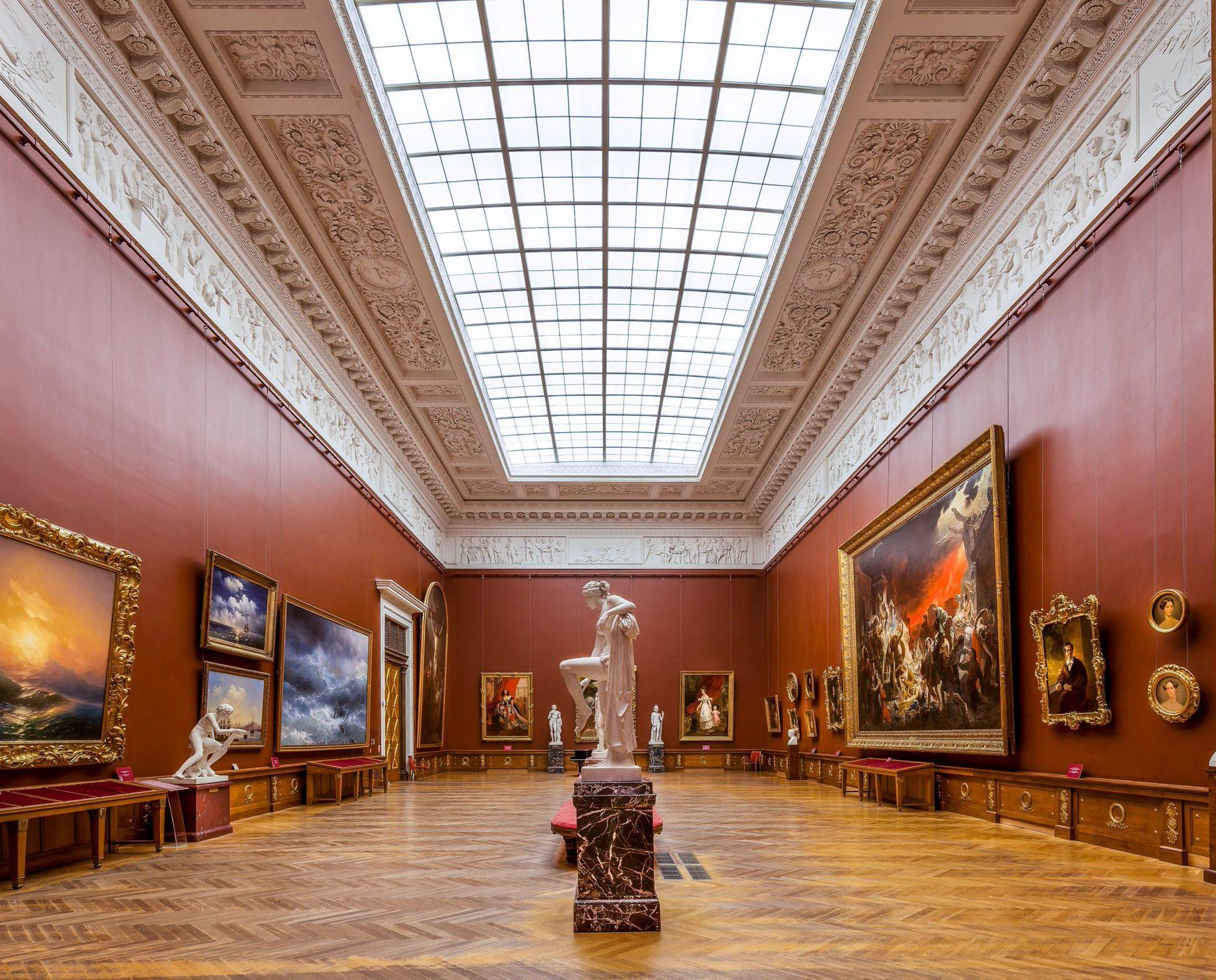 Русский музей в Михайловском дворце