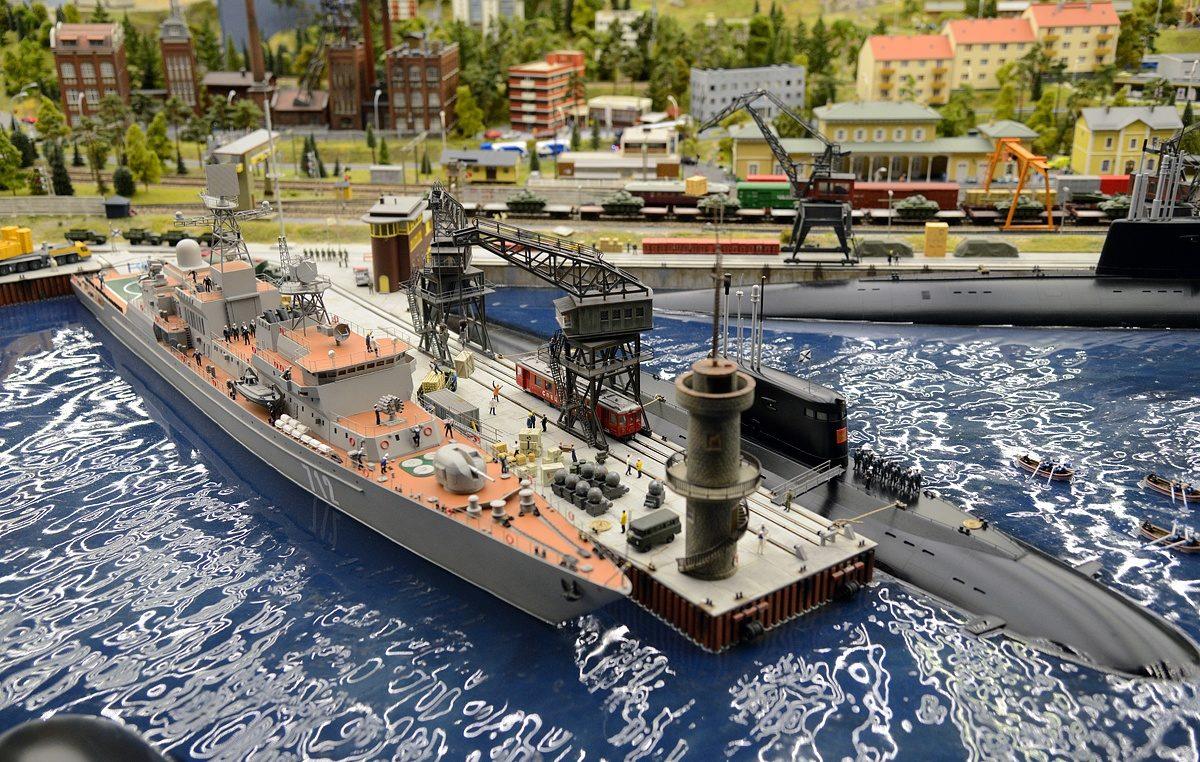 Подводная лодка - Музей «Гранд Макет Россия»