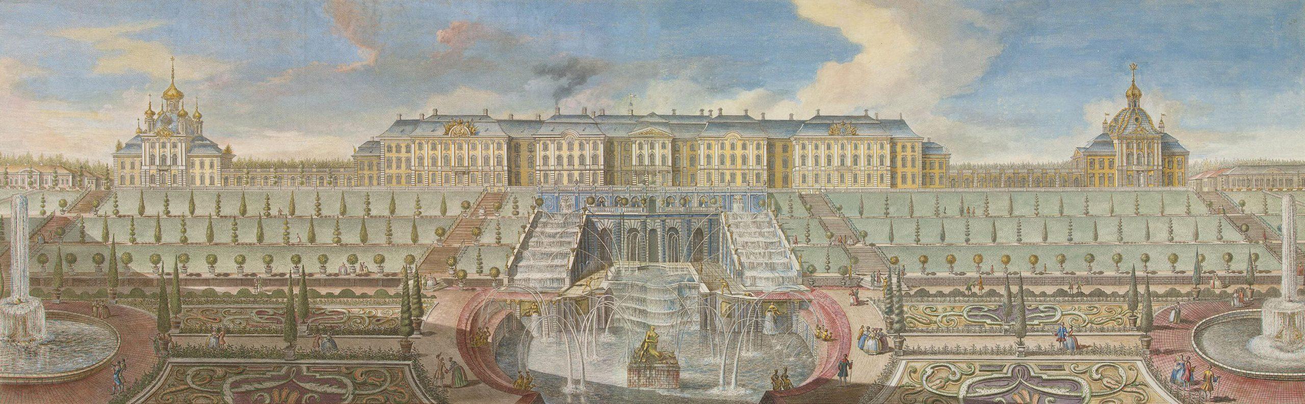 История Большого петергофского дворца