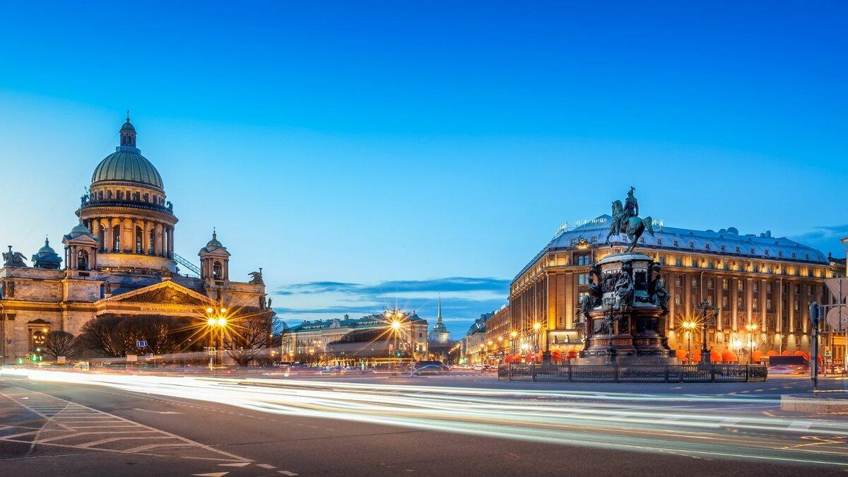Автобусная экскурсия - Ночной Петербург и развод мостов