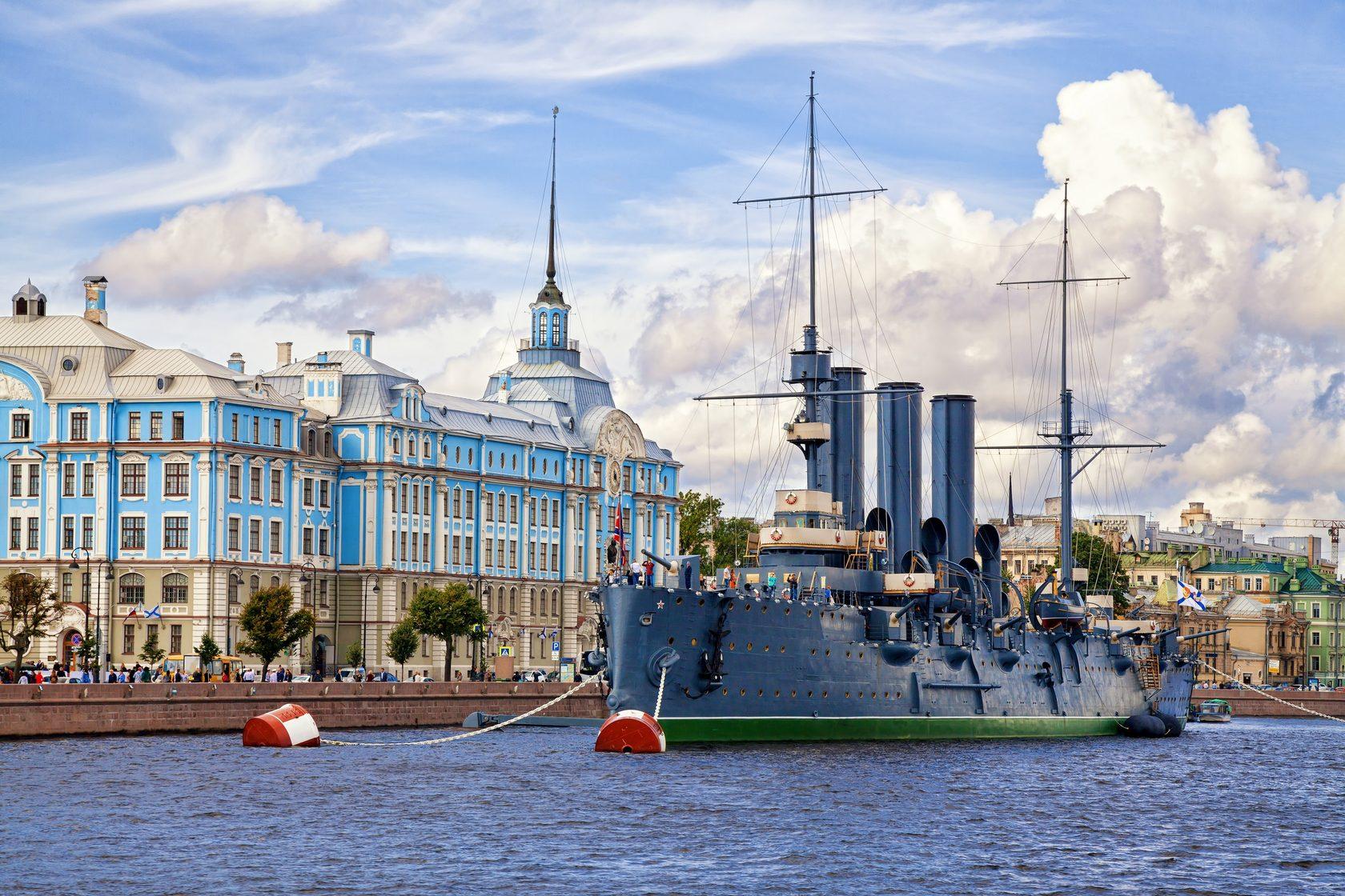 Автобусная экскурсия по Петербургу с посещением крейсера Аврора
