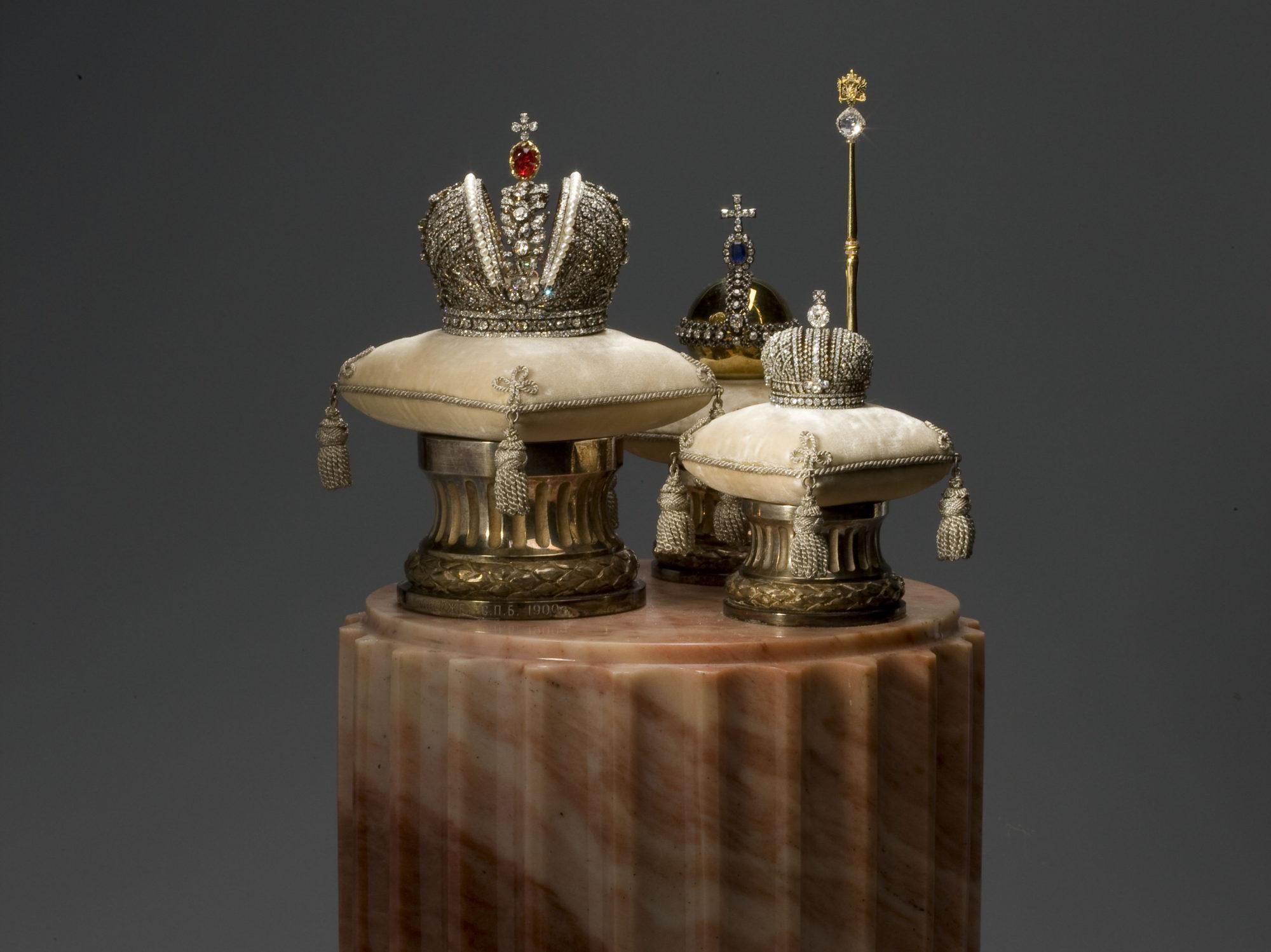 Копии императорских регалий работы Карла Фаберже, 1900 г.