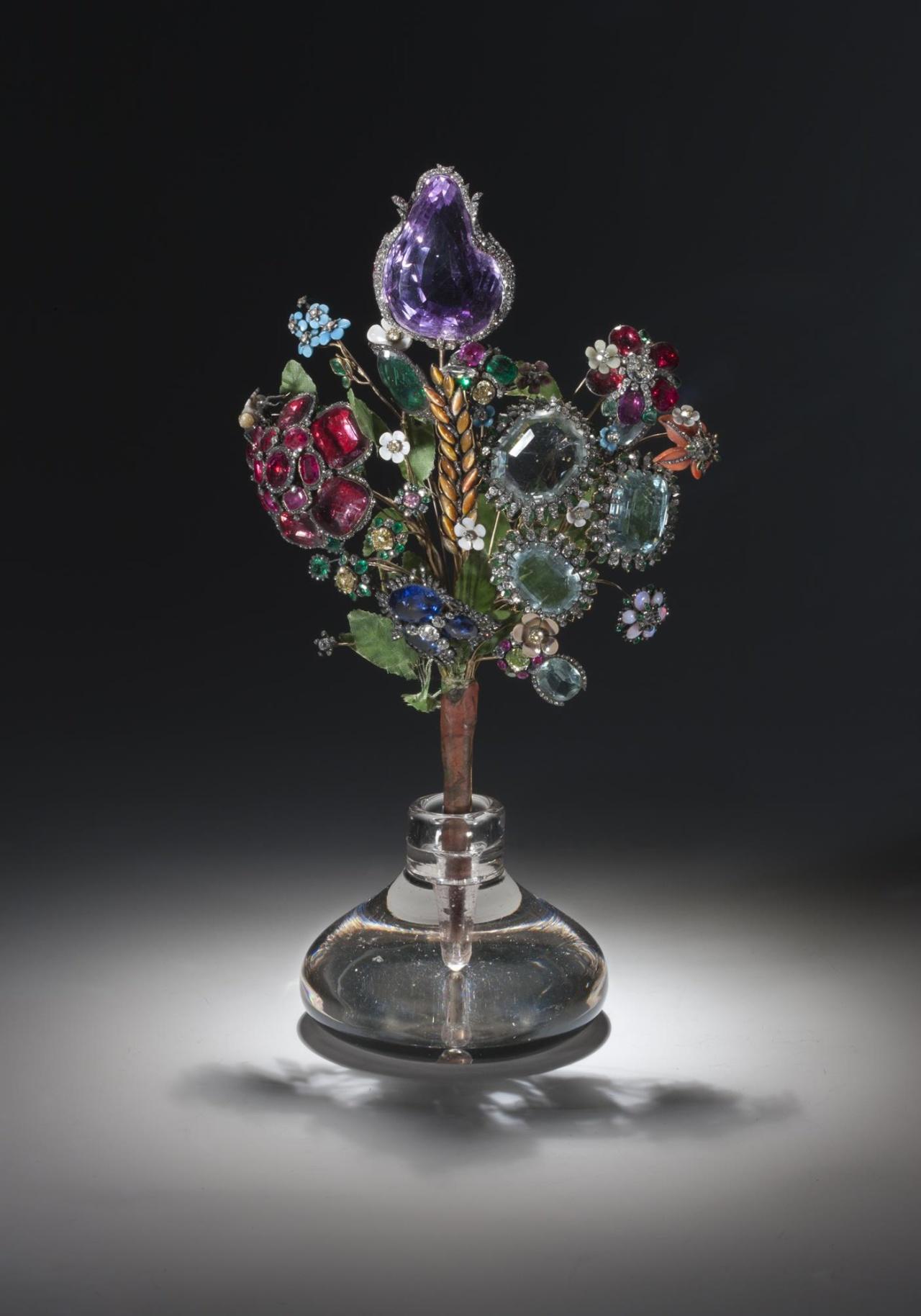 Букет цветов работы Йереми Позье, 1740 гг.