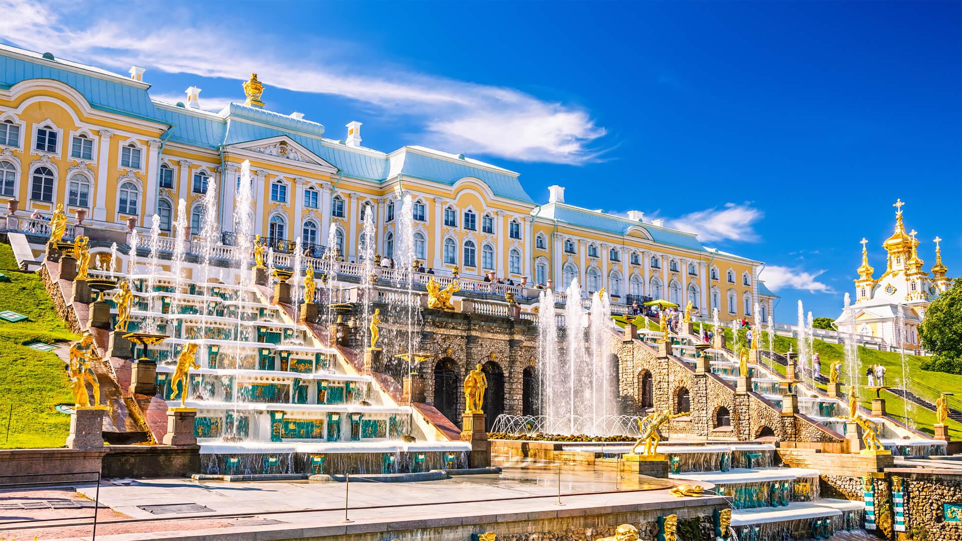 Выездные автобусные экскурсии из Петербурга