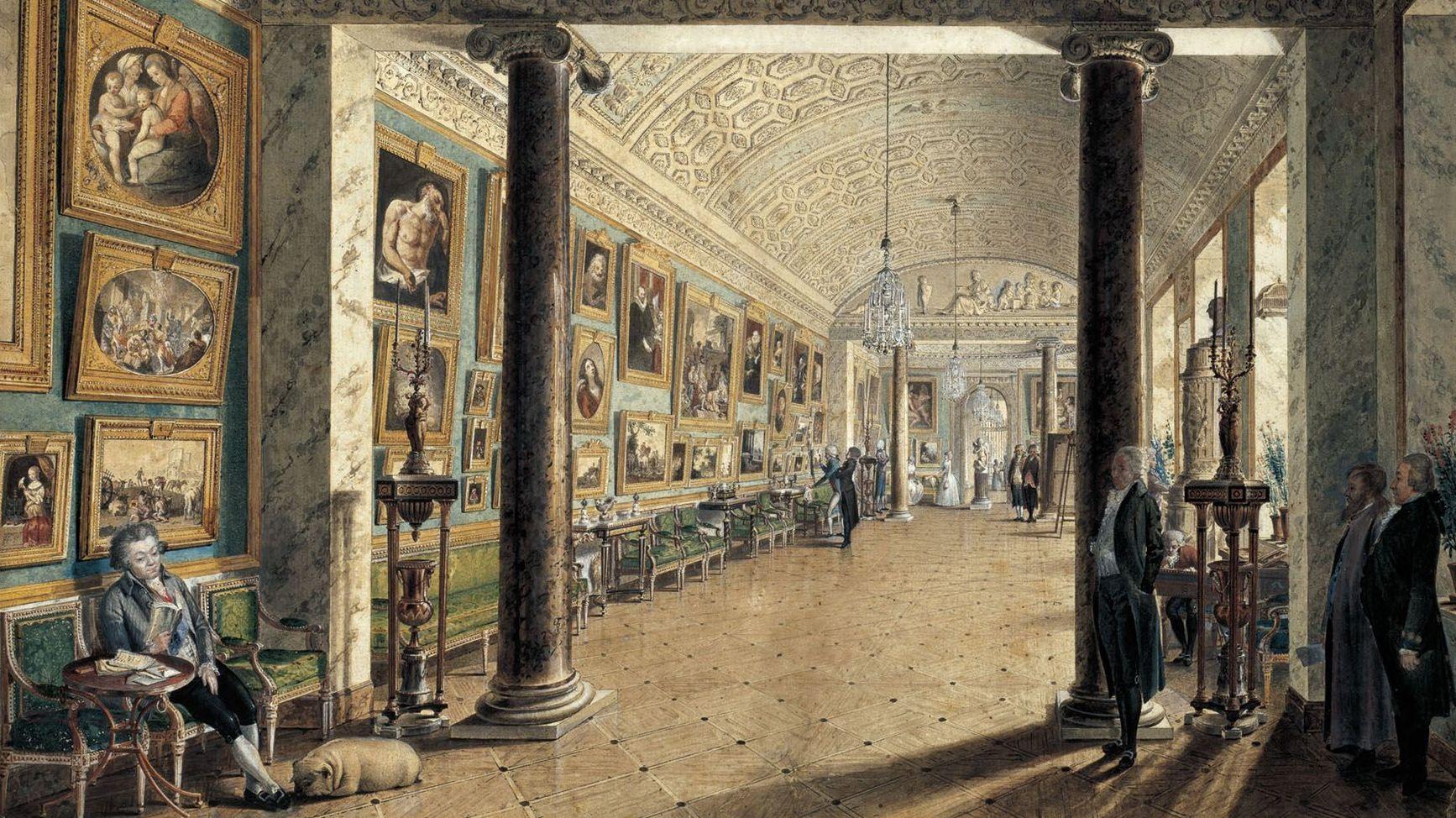 Картинная галерея графа А.С.Строганова, 1794. Воробьев М.Н.
