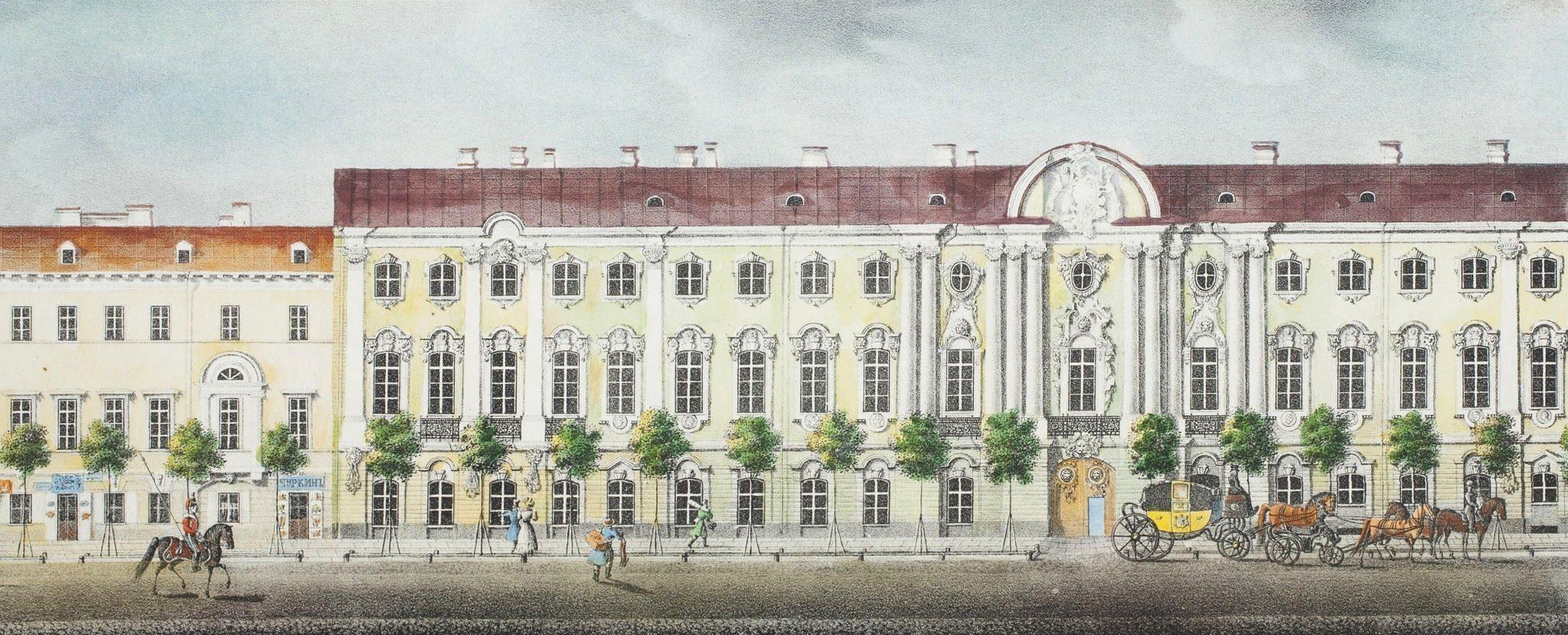 Строгановский дворец, 1830-1835