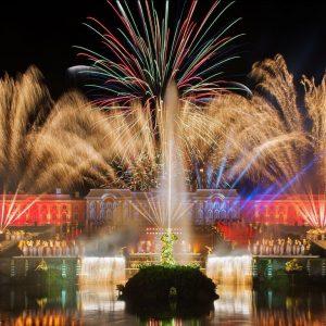 Закрытие фонтанов в Петергофе в 2021 году