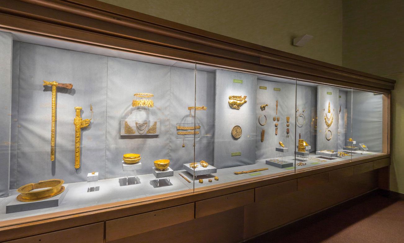 Сибирская коллекция Петра I в Золотой кладовой Эрмитажа
